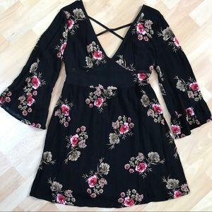 American Rag Flowered Boho Style Dress